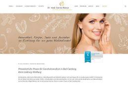 Neue Webseite Hausärztin Dr. Carola Baisse